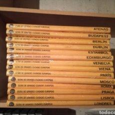 Libros: GUIAS DE GRANDES CIUDADES EUROPEAS. Lote 107606611