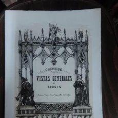 Libros: VISTAS GENERALES DE BURGOS.. Lote 107847643