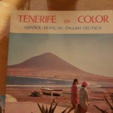 Libros: TENERIFE A COLOR. Lote 109209659