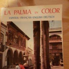 Libros: LA PALMA EN COLOR. Lote 109209782