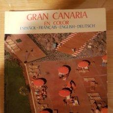 Libros: GRAN CANARIA EN COLOR. Lote 109209922