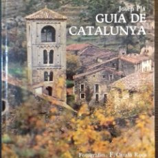 Libros: GUIA DE CATALUNYA. JOSEP PLA. FRANCESC CATALA ROCA. EDICIONS DESTINO. 1ª EDICIO - 1971. Lote 112723027