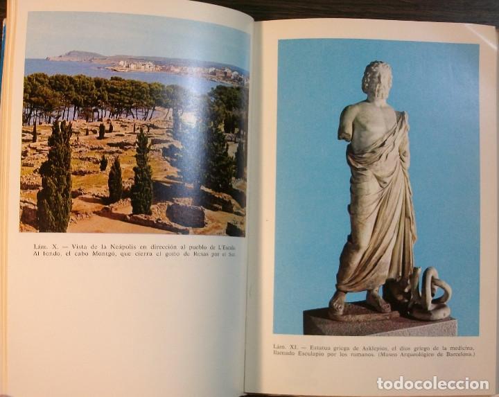 Libros: AMPURIAS. GUIA ITINERARIA. E. RIPOLL PERELLO. 1976 - Foto 3 - 118068623