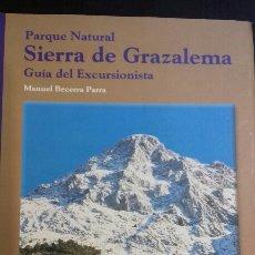 Libros: SIERRA DE GRAZALEMA.GUIA DEL EXCURSIONISTA.. Lote 121110135