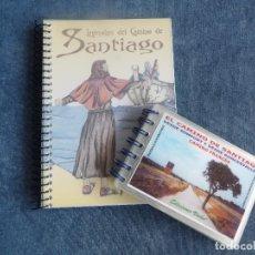 Libros: LEYENDAS DEL CAMINO DE SANTIAGO - EL CAMINO DE SANTIAGO, CAMINO FRANCÉS . Lote 121356451