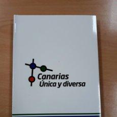 Libros: LIBRO CANARIAS ÚNICA Y DIVERSA. (ARTÍCULO NUEVO). Lote 122810298