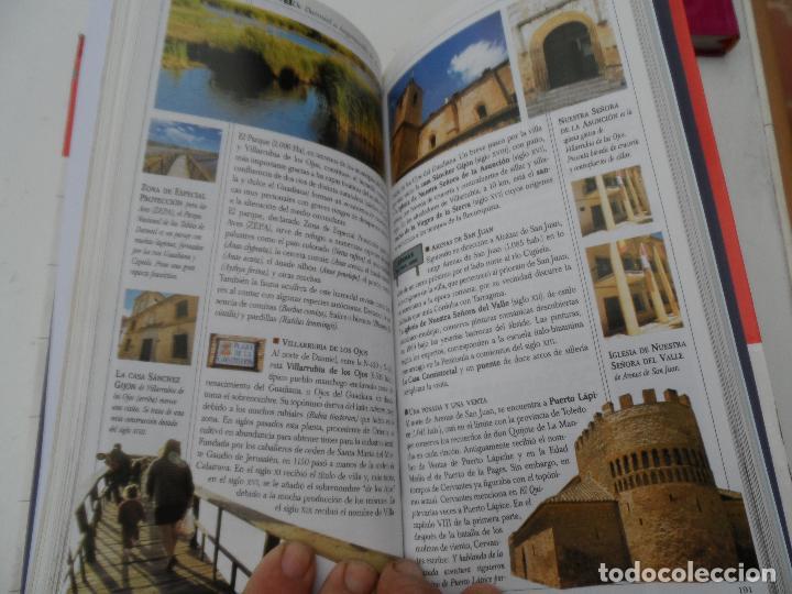 Libros: CASTILLA LA MANCHA LAS GUIAS VISUALES DE ESPAÑA. - Foto 2 - 124556355
