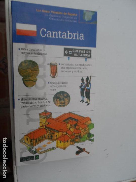 CANTABRIA LAS GUIAS VISUALES DE ESPAÑA. (Libros Nuevos - Ocio - Guía de Viajes)