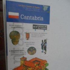 Libros: CANTABRIA LAS GUIAS VISUALES DE ESPAÑA.. Lote 124556511