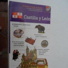 Livres: CASTILLA Y LEÓN LAS GUIAS VISUALES DE ESPAÑA. . Lote 124556651
