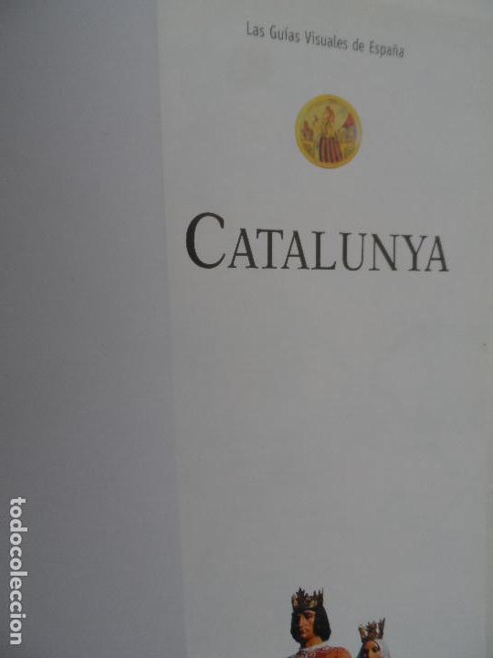 Libros: CATALUÑA LAS GUIAS VISUALES DE ESPAÑA. - Foto 3 - 124557215