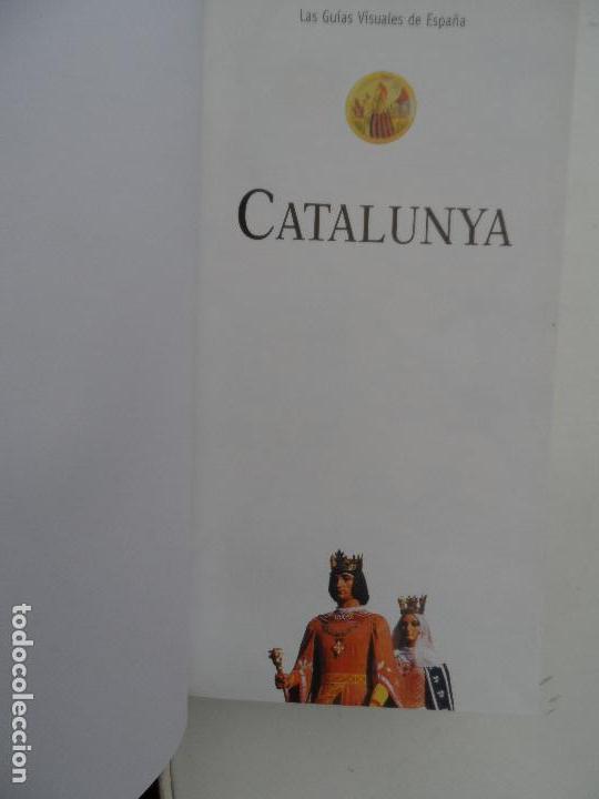Libros: CATALUÑA LAS GUIAS VISUALES DE ESPAÑA. - Foto 4 - 124557215