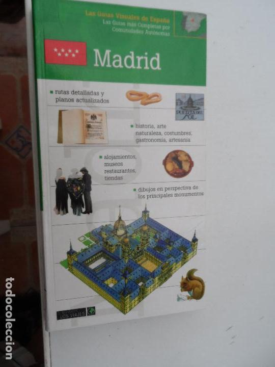 MADRID LAS GUIAS VISUALES DE ESPAÑA. (Libros Nuevos - Ocio - Guía de Viajes)