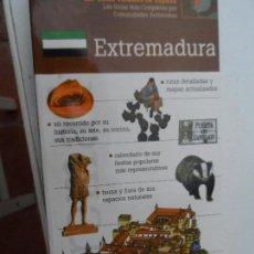 Libros: EXTREMADURA LAS GUIAS VISUALES DE ESPAÑA. . Lote 124557963