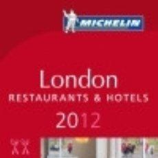 Libros: MICHELIN LONDON 2012 TRAVEL HOUSE MEDIA GMBH. Lote 70996817