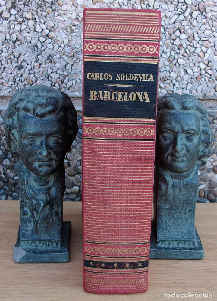 BARCELONA. CARLOS SOLDEVILA. 4ª EDICION, 1972 (Libros Nuevos - Ocio - Guía de Viajes)
