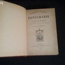 Libros: FUENTERRABIA. FONTARABIE. PAIS VASCO.. Lote 131548766
