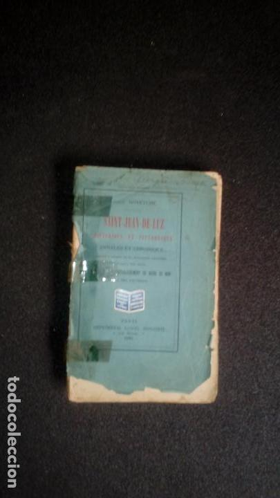 Libros: Pais vasco. San Juan de Luz. Saint-Jean -de-Luz. - Foto 2 - 131549006