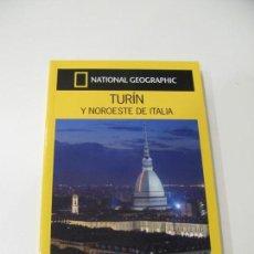 Libros: GUIA VIAJES NATIONAL GEOGRAPHIC. GUIAS AUDI. TURÍN Y NOROESTE DE ITALIA.. Lote 131778802