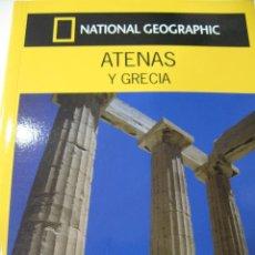 Libros: GUIA VIAJES NATIONAL GEOGRAPHIC. GUIAS AUDI. ATENAS Y GRECIA. Lote 138529264