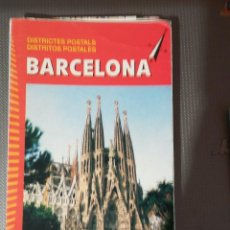 Libros: PLANO DE BARCELONA, AÑOS 90. MUY BIEN CONSERVADO.. Lote 132178570