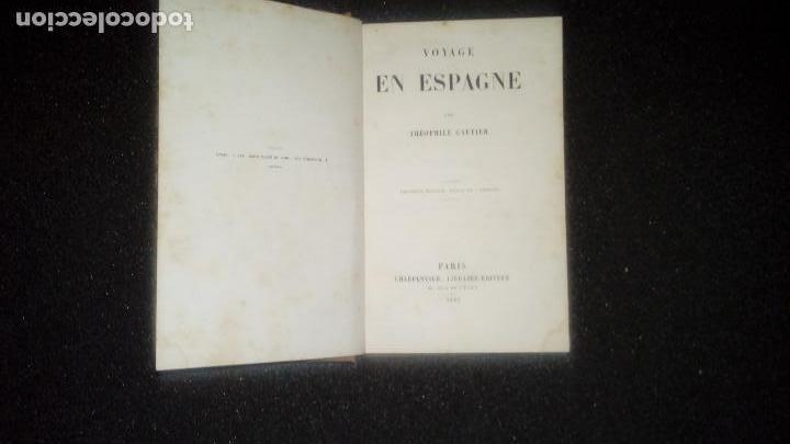 Libros: Gautier. Clásico viaje por España. Pais Vasco. Guipuzcoa en el XIX. - Foto 2 - 132537542