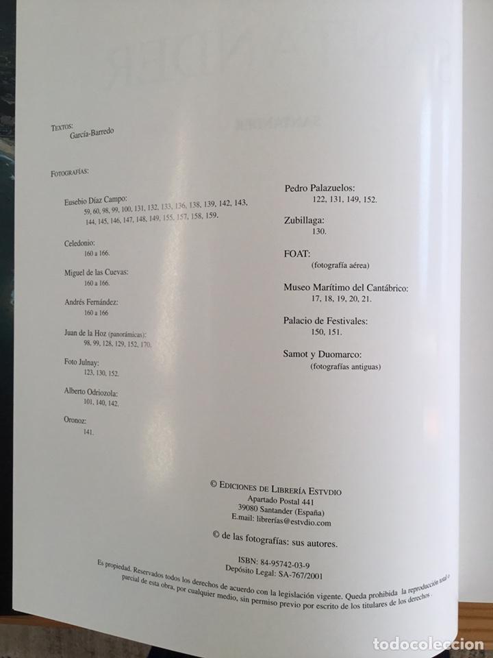 Libros: SANTANDER CIUDAD ABIERTA AL SIGLO XXI. EDICIONES LIBRERÍA ESTUDIO, 2001 - Foto 3 - 135520455