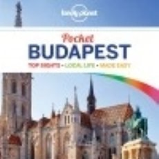 Libros: LONELY PLANET POCKET BUDAPEST. Lote 141762522