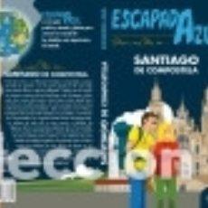 Libros: SANTIAGO DE COMPOSTELA ESCAPADA AZUL. Lote 142378064