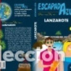 Libros: LANZAROTE. ESCAPADA AZUL. Lote 142387138