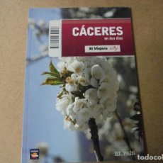 Libros: CACERES EN DOS DIAS EL PAIS. Lote 143415118