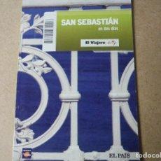 Libros: SAN SEBASTIAN EN DOS DIAS EL PAIS. Lote 143415230