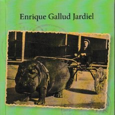 Libros: VIAJES CHAPUCEROS Y LUGARES ESPANTOSOS (E. GALLUD JARDIEL) GLYPHOS 2017. Lote 143915510