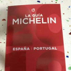 Libros: GUIA MICHELIN 2019(INCLUYE MAPA). Lote 144116601