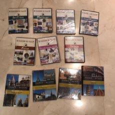 Libros: LOTE 7 DVD Y 3 GUIAS VIAJE. Lote 145004497