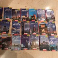 Libros: 21 GUIAS DE VIAJE. Lote 145004824