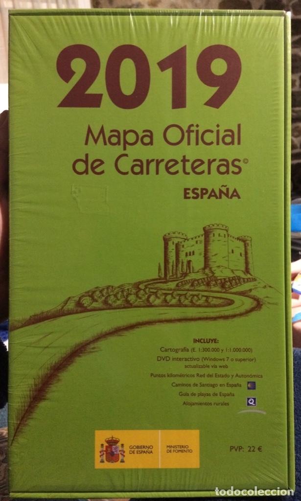 Mapa Oficial De Carreteras Espana 2019 Edicion Sold At Auction