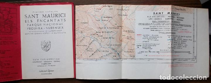 Libros: GUIAS CARTOGRAFICAS DE EXCURCIONISMO Y TURISMO DE LA EDITORIAL ALPINA ( 5 DE DIFERNETES ZONAS) - Foto 2 - 146811534