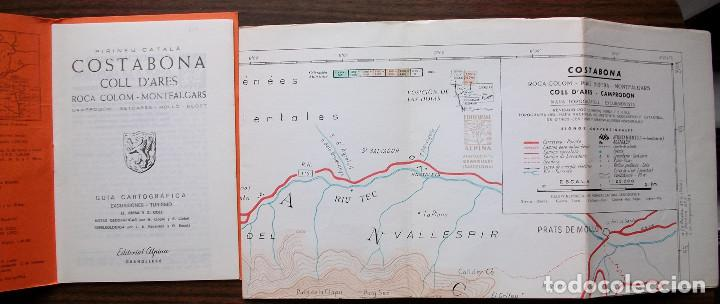 Libros: GUIAS CARTOGRAFICAS DE EXCURCIONISMO Y TURISMO DE LA EDITORIAL ALPINA ( 5 DE DIFERNETES ZONAS) - Foto 3 - 146811534