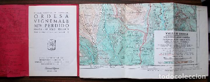 Libros: GUIAS CARTOGRAFICAS DE EXCURCIONISMO Y TURISMO DE LA EDITORIAL ALPINA ( 5 DE DIFERNETES ZONAS) - Foto 4 - 146811534