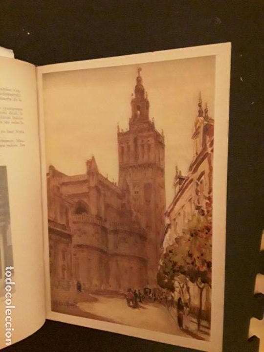 Libros: Bertrand Louis. Espagne. Aquarelles de Bouillière - Foto 3 - 147375174