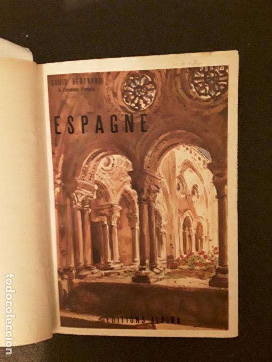 Libros: Bertrand Louis. Espagne. Aquarelles de Bouillière - Foto 5 - 147375174