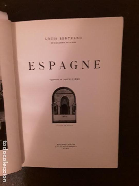 Libros: Bertrand Louis. Espagne. Aquarelles de Bouillière - Foto 7 - 147375174