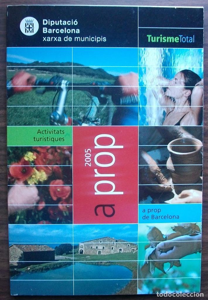 TURISME TOTAL A PROP DE BARCELONA. (Libros Nuevos - Ocio - Guía de Viajes)