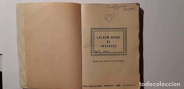 L´ALBUM SUISSE DE VACANCES ...AÑOS 40. (Libros Nuevos - Ocio - Guía de Viajes)