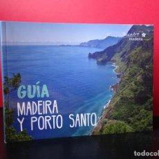 Libros: GUÍA MADEIRA Y PORTO SANTO DESCUBRE MADEIRA. NUEVA. Lote 149004350