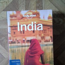 Libros: LONELY PLANET - INDIA. Lote 149929762