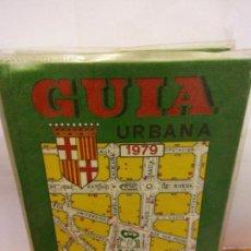 Libros: BJS.GUIA URBANA DE BARCELONA.EDT, JOSE PAMIAS.BRUMART TU LIBRERIA.. Lote 150066434