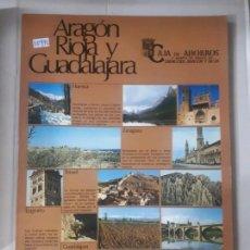 Livros: ARAGON RIOJA Y GUADALAJARA . Lote 152855034