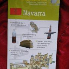Livres: GUÍAS VISUALES DE ESPAÑA, NAVARRA. Lote 159274089